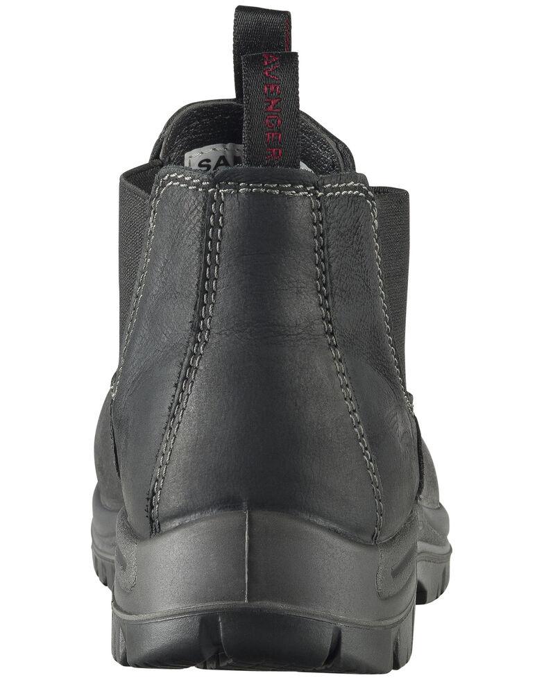 Avenger Men's Foreman Pull-On Work Boots - Composite Toe, Black, hi-res