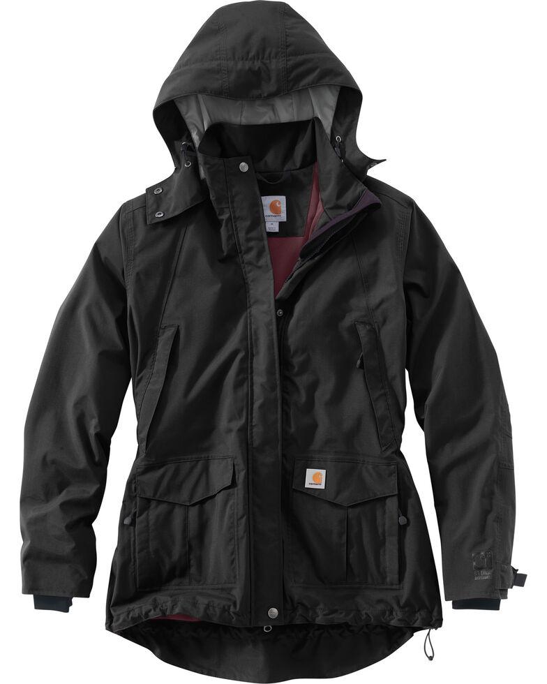 Carhartt Women's Shoreline Work Jacket, Black, hi-res