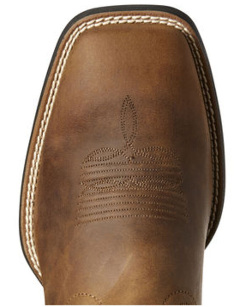 Ariat Men's Sport Patriot Multicamo Western Boots - Wide Square Toe, Brown, hi-res