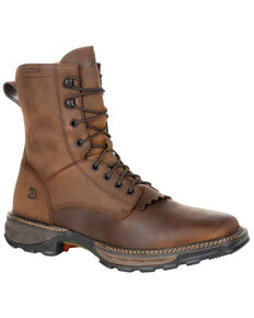 Durango Men's Maverick XP Waterproof Work Boots - Soft Toe, Brown, hi-res
