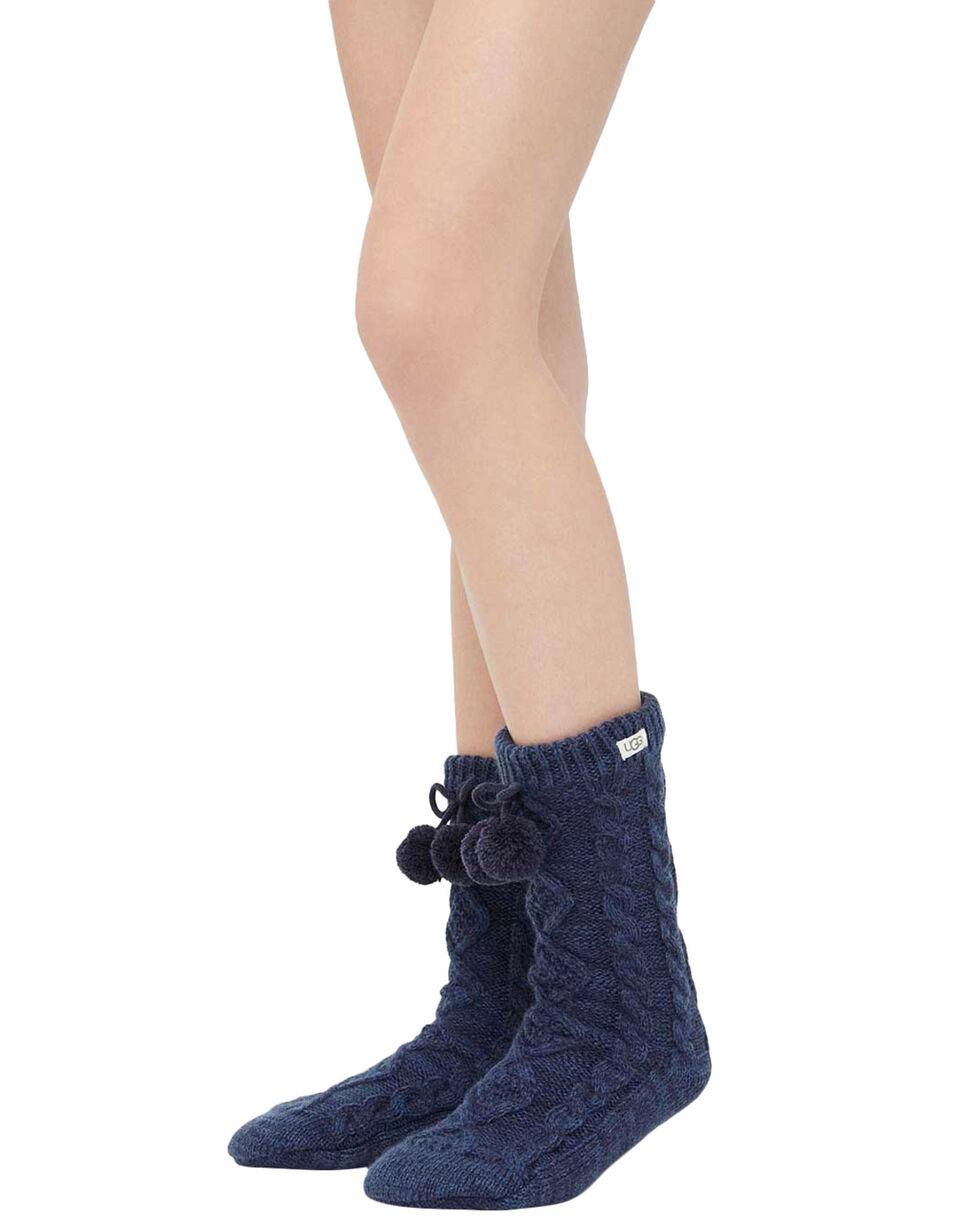 Ugg Women's Pom Pom Crew Socks, , hi-res