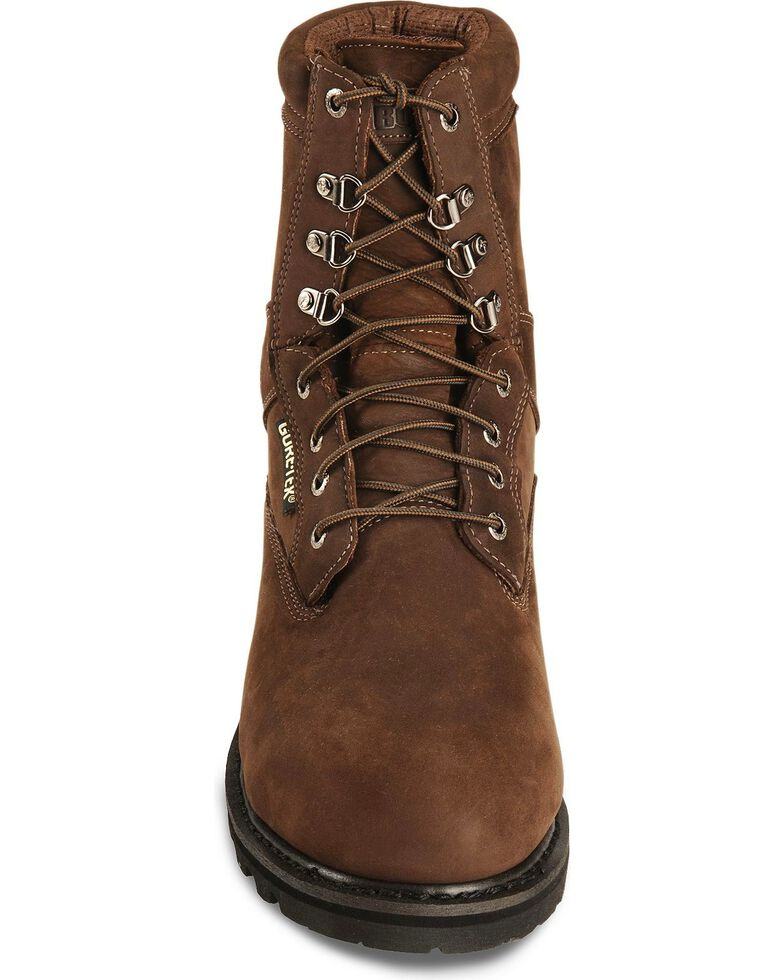 "Rocky 8"" Ranger Insulated Gore-Tex Work Boots - Steel Toe, Brown, hi-res"