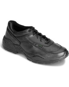 Rocky Men's 911 Athletic Oxford Duty Shoes, Black, hi-res