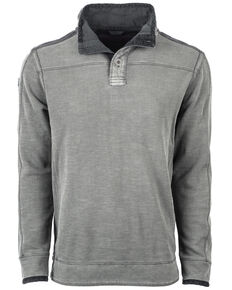 STS Ranchwear Men's Outlander 2 Button Top Pullover , No Color, hi-res