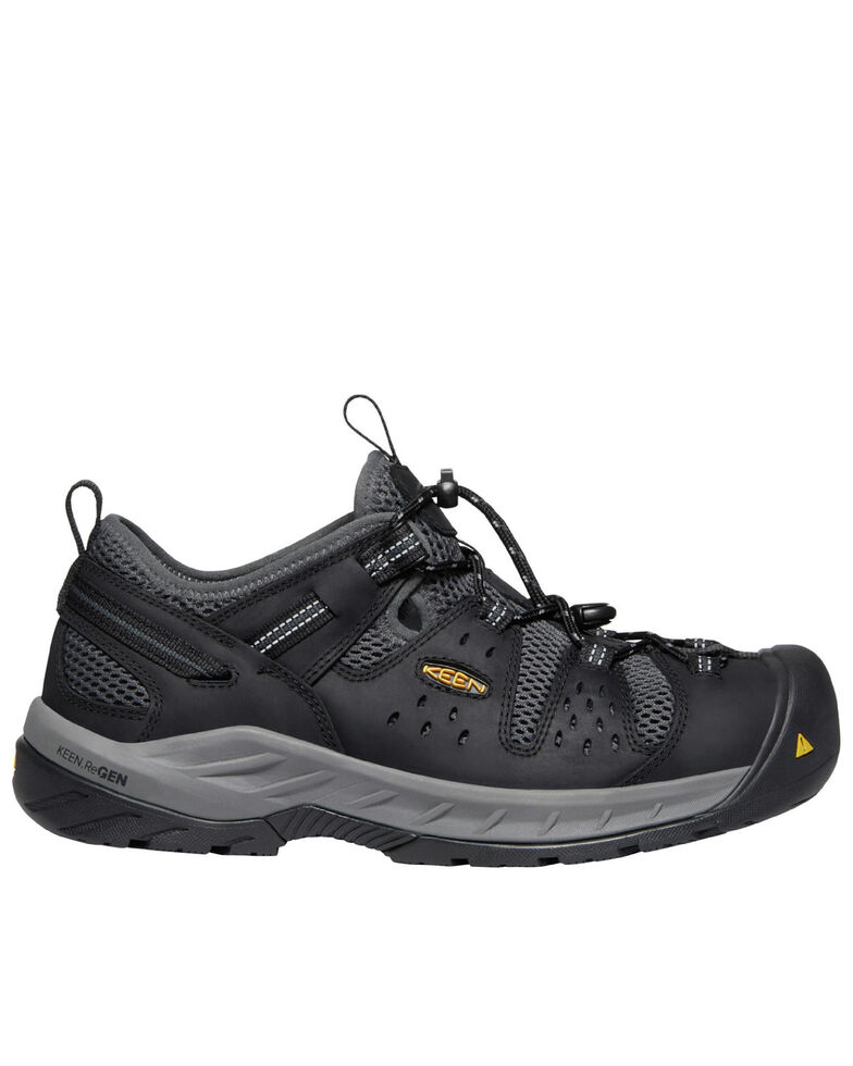 Keen Men's Atlanta Cool II Work Boots - Steel Toe, Black, hi-res