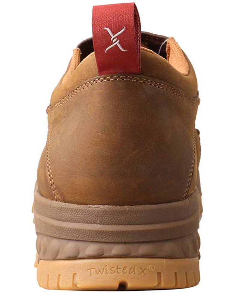 Twisted X Men's CellStretch Work Shoes - Composite Toe, Distressed Brown, hi-res