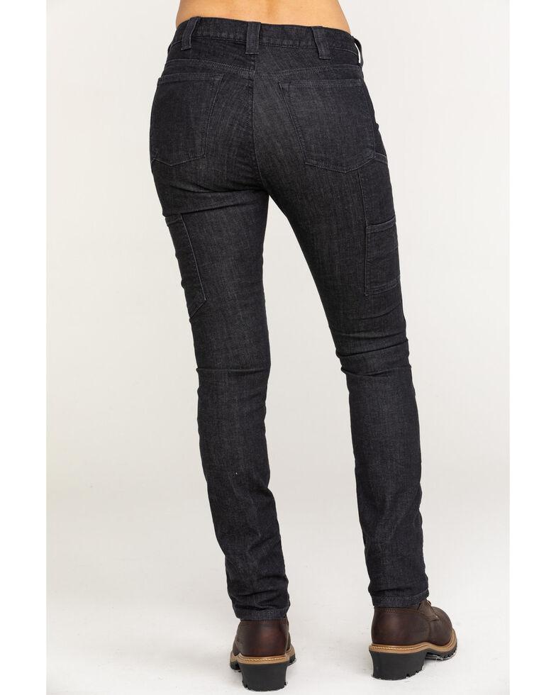 Dovetail Workwear Women's Maven Slim Denim Stretch Jeans , Black, hi-res
