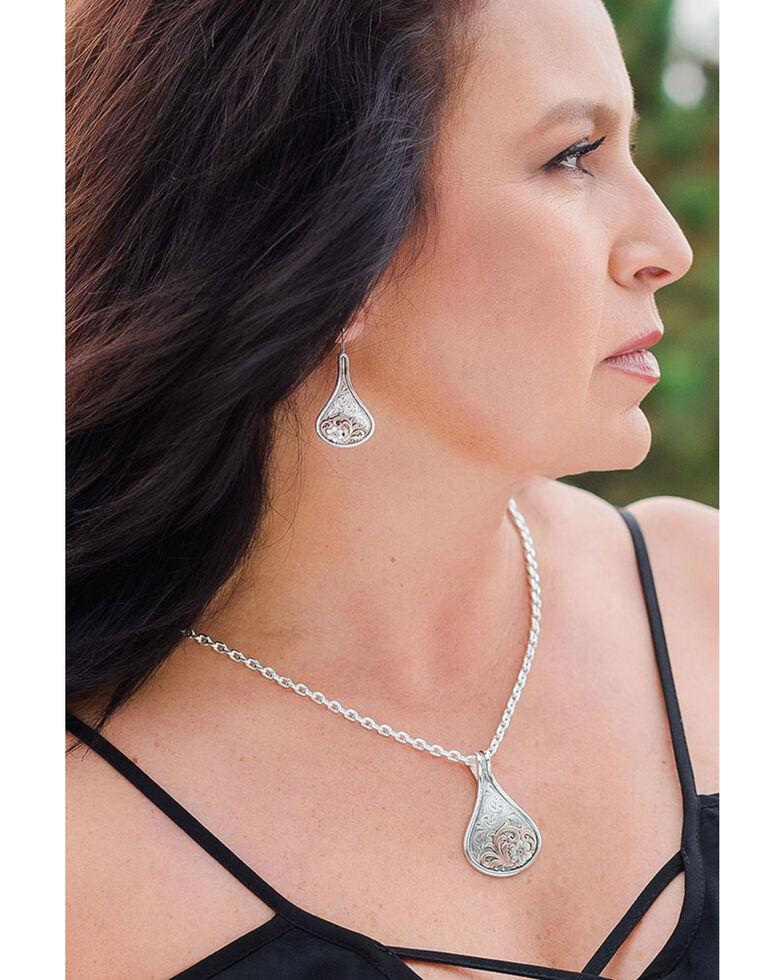 Montana Silversmiths Women's Secret Garden Necklace, Rose, hi-res