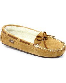 Lamo Footwear Women's Britain Moccasins, Chestnut, hi-res