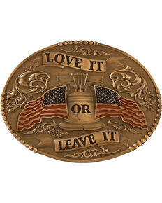 Cody James® Men's Love It or Leave It Buckle, Multi, hi-res