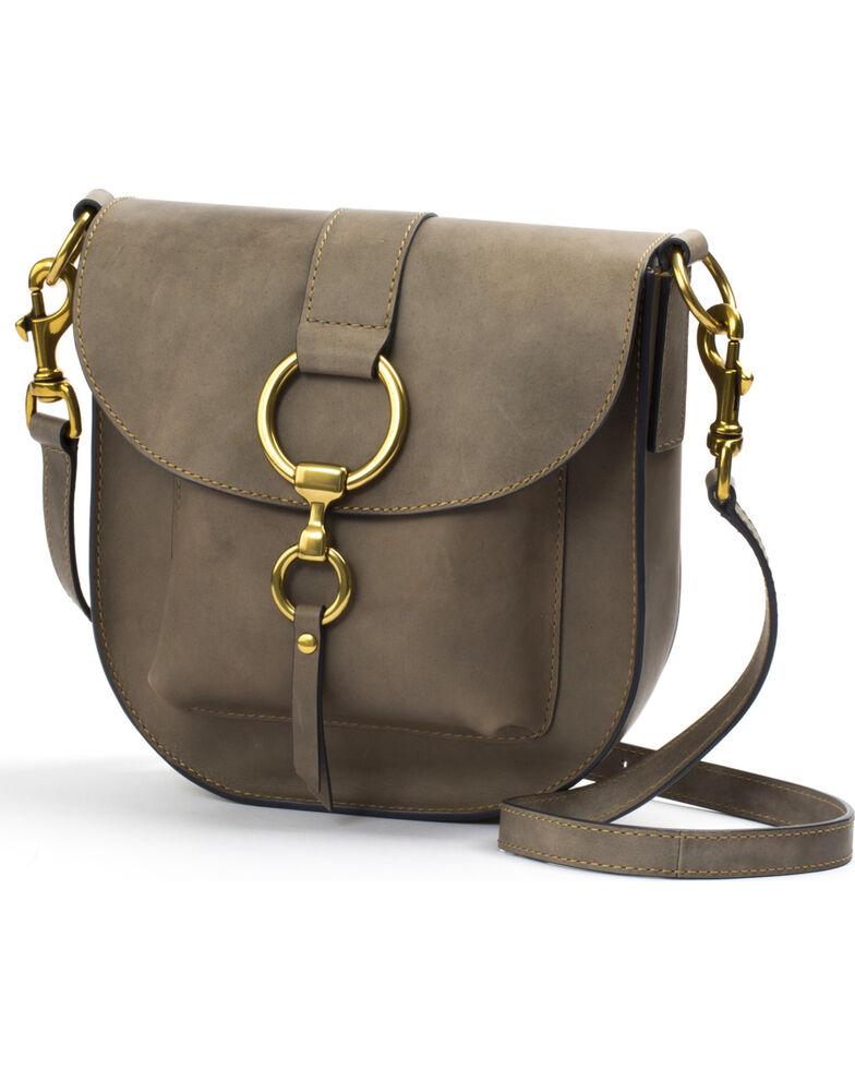 Frye Women S Grey Ilana Saddle Bag Hi Res