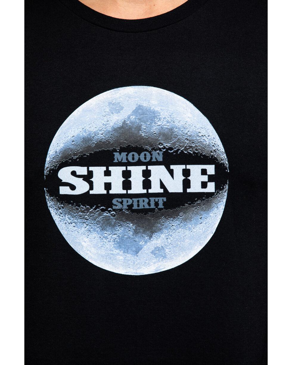 Moonshine Spirit Men's Moon Landing Graphic T-Shirt , Black, hi-res