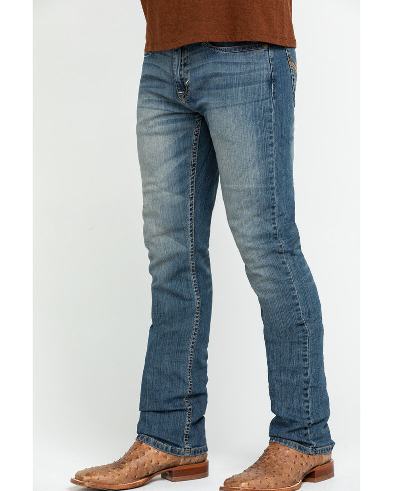 Cody James Men's Henderson Stretch Slim Straight Jeans , Blue, hi-res