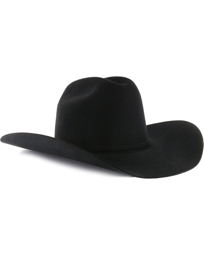 1f2da64d68eac1 Zoomed Image Rodeo King Rodeo 5X Felt Cowboy Hat, Black, hi-res