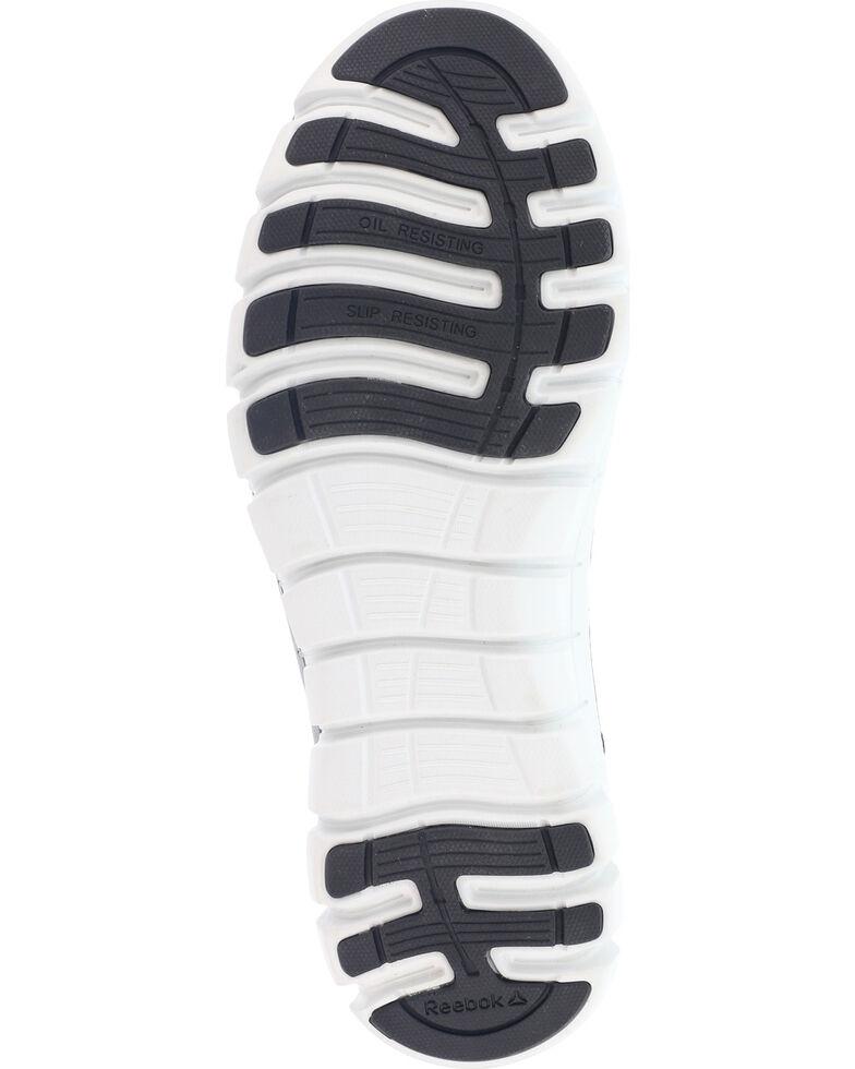 Reebok Men's Mesh Athletic Oxfords - Alloy Toe, Grey, hi-res