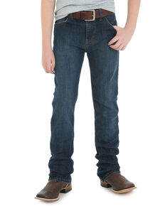 Wrangler 20X Boys' No. 42 Glendive Slim Straight Jeans , Blue, hi-res