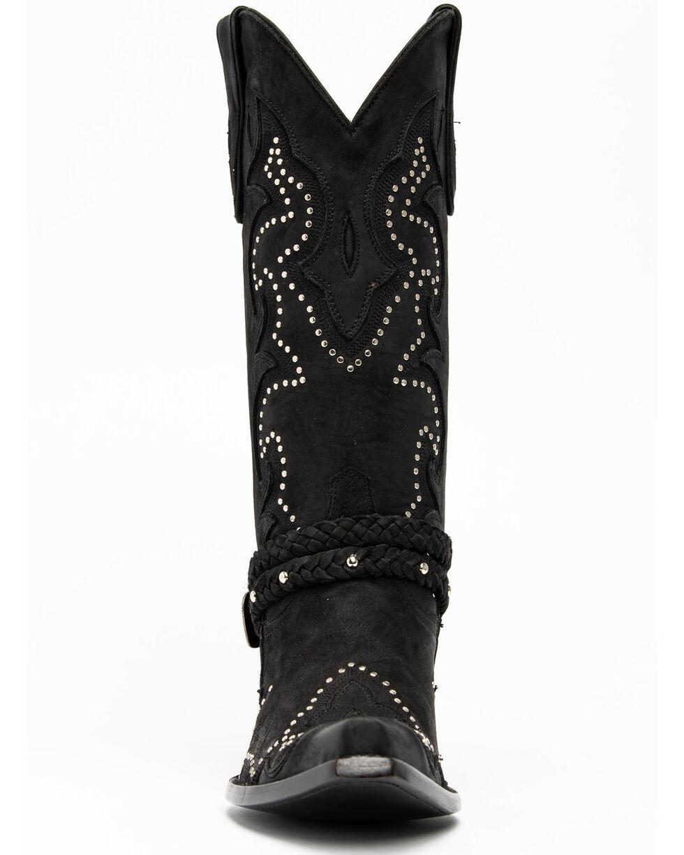Idyllwind Women's Black Barfly Western Boots - Snip Toe, Black, hi-res