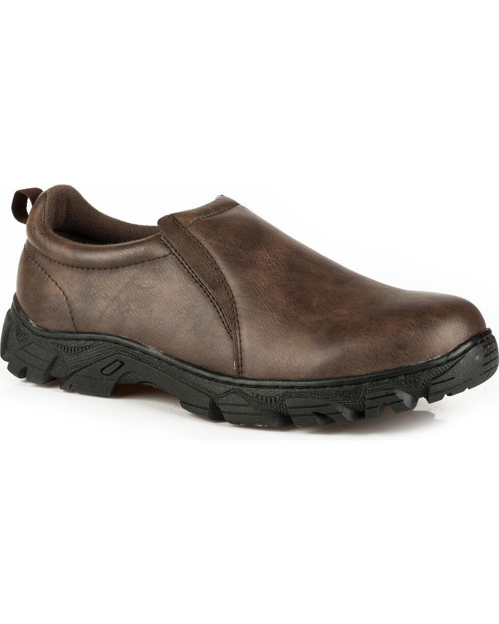 Roper Men's Brown Cotter Casual Slip-On Shoes, Brown, hi-res