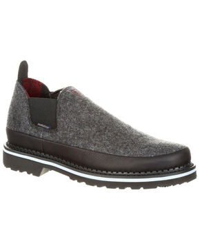 Georgia Boot Men's Giant Pendleton Romeo Shoes - Round Toe, Slate, hi-res