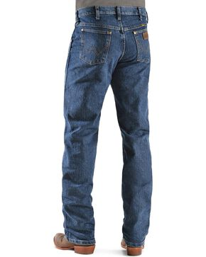Wrangler Men's Premium Performance Advanced Comfort Jeans, Med Stone, hi-res