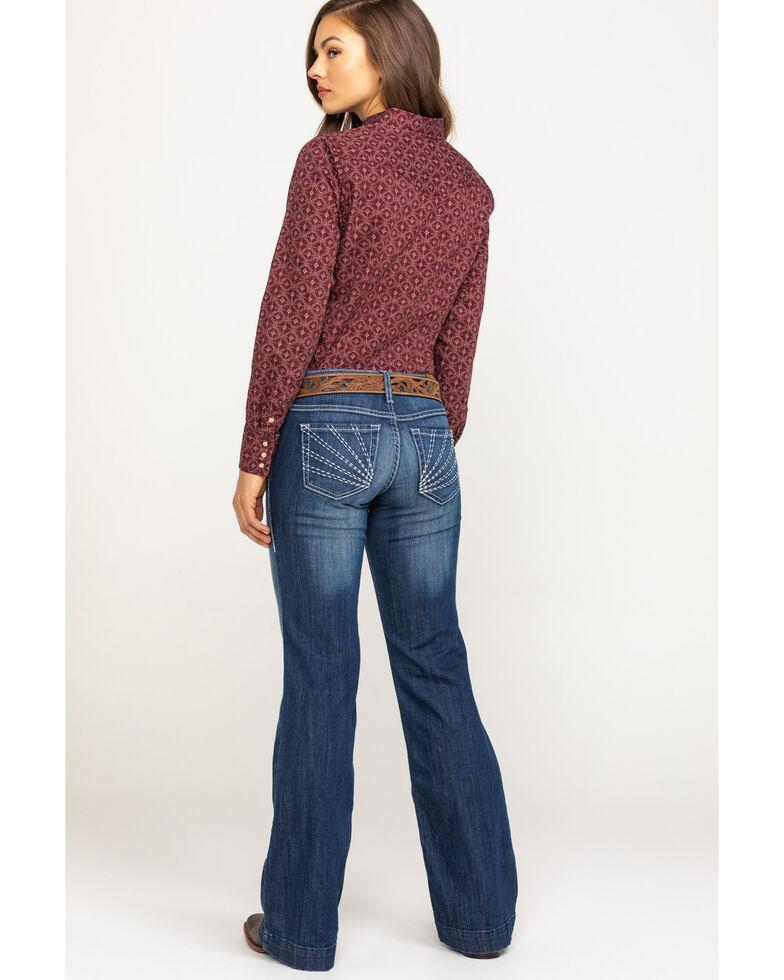 Ariat Women's Medium Sunset Trouser , Blue, hi-res