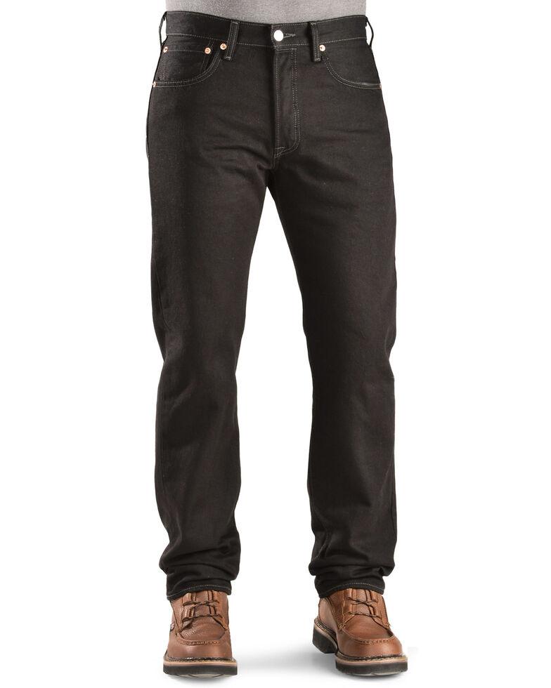 Levi's Men's Rinsed 501 Original  Jeans, Blk Magic, hi-res