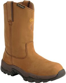 Chippewa Men's IQ Composition Toe Work Boots, Bay Apache, hi-res