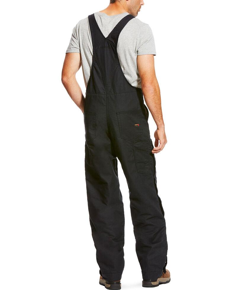 Ariat Men's FR Insulated Bib 2.0 Overalls , Black, hi-res