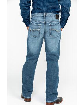 Ariat Men's Relentless Remuda Kentucky Classic Stitch Boot Jeans, Indigo, hi-res