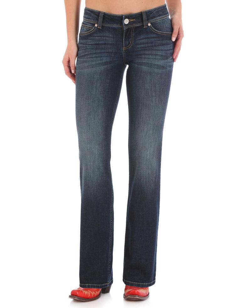 Wrangler Women's Dark Wash Retro Sadie Jeans , Indigo, hi-res