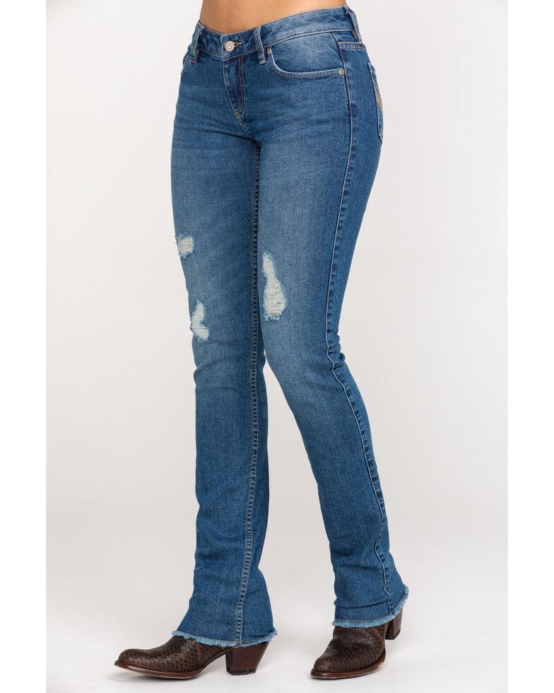 Idyllwind Women's Let It Rip Skinny Jeans , Blue, hi-res