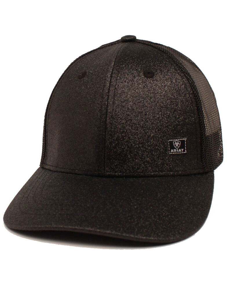Ariat Women's Richardson Contrast Stitching Cap, Black, hi-res