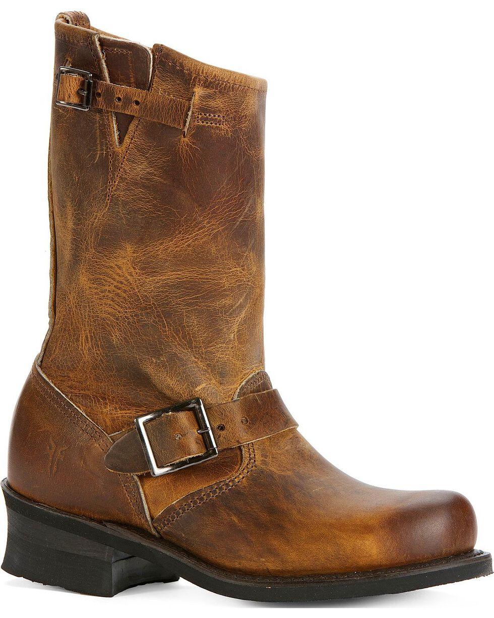 Frye Women's Engineer 12R Boots, Dark Brown, hi-res