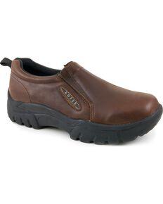 Roper Men's Performance Casual Shoes, Brown, hi-res