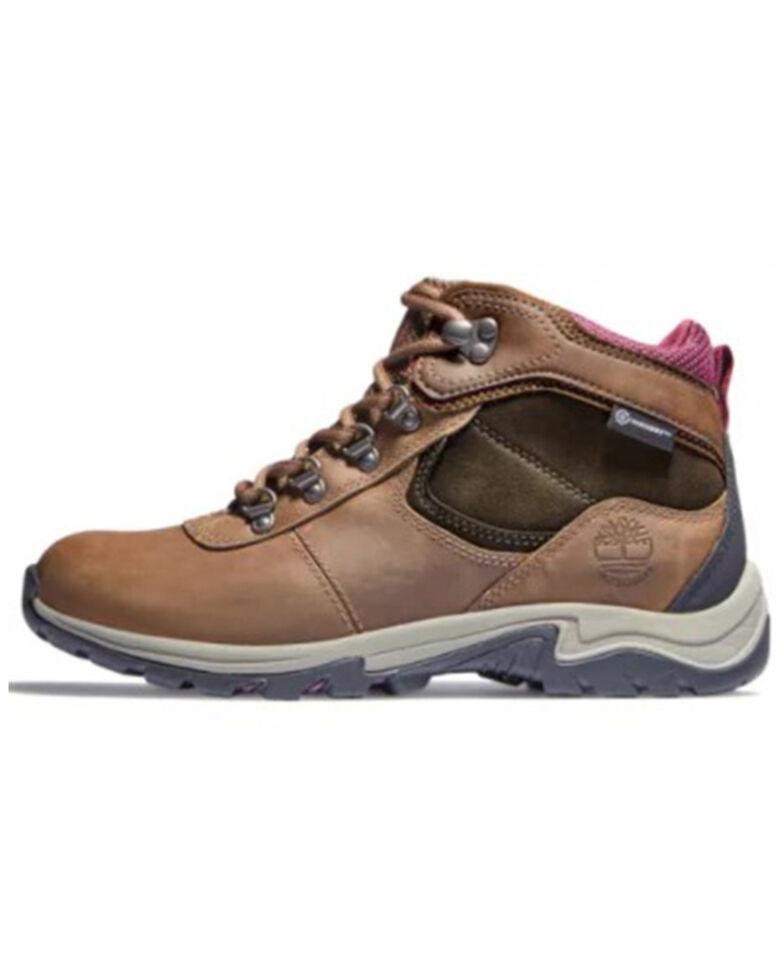 Timberland Women's Maddsen Waterproof Hiking Boots - Soft Toe, Brown, hi-res