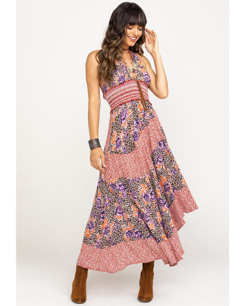 Free People Women's Gabriela Slip Dress, Rust Copper, hi-res