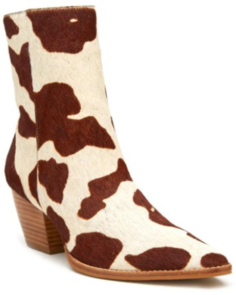Matisse Women's Caty Fashion Booties - Round Toe, Brown, hi-res