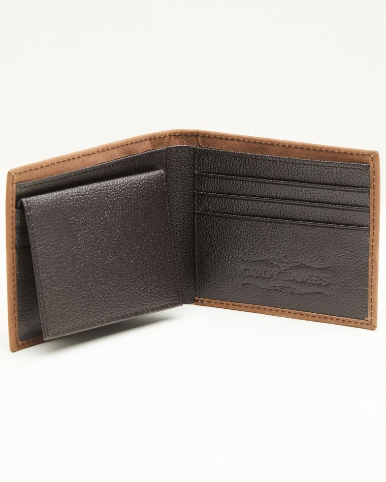 Cody James Men's Liberty Bifold Wallet, Brown, hi-res
