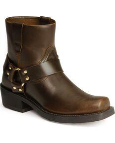 Durango Short Harness Boots, Brown, hi-res