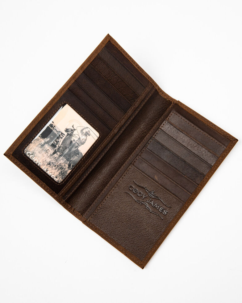 Cody James Men's Americana Wallet, Brown, hi-res