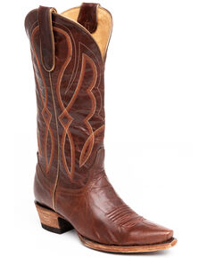 Idyllwind Women's Colt Western Boots - Snip Toe, Cognac, hi-res