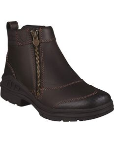 Ariat Women's Barnyard Farm Boots, Dark Brown, hi-res