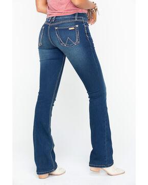 Wrangler Women's Faded Wash Retro Mae Jeans, Indigo, hi-res