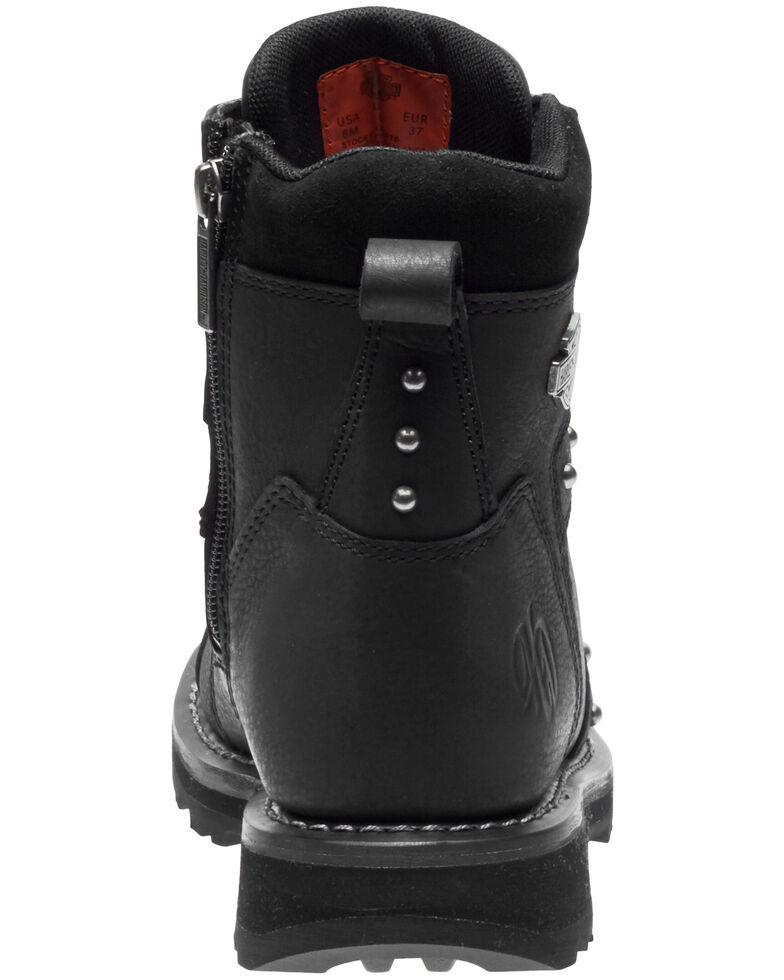 Harley Davidson Women's Oakleigh Moto Boots - Round Toe, Black, hi-res