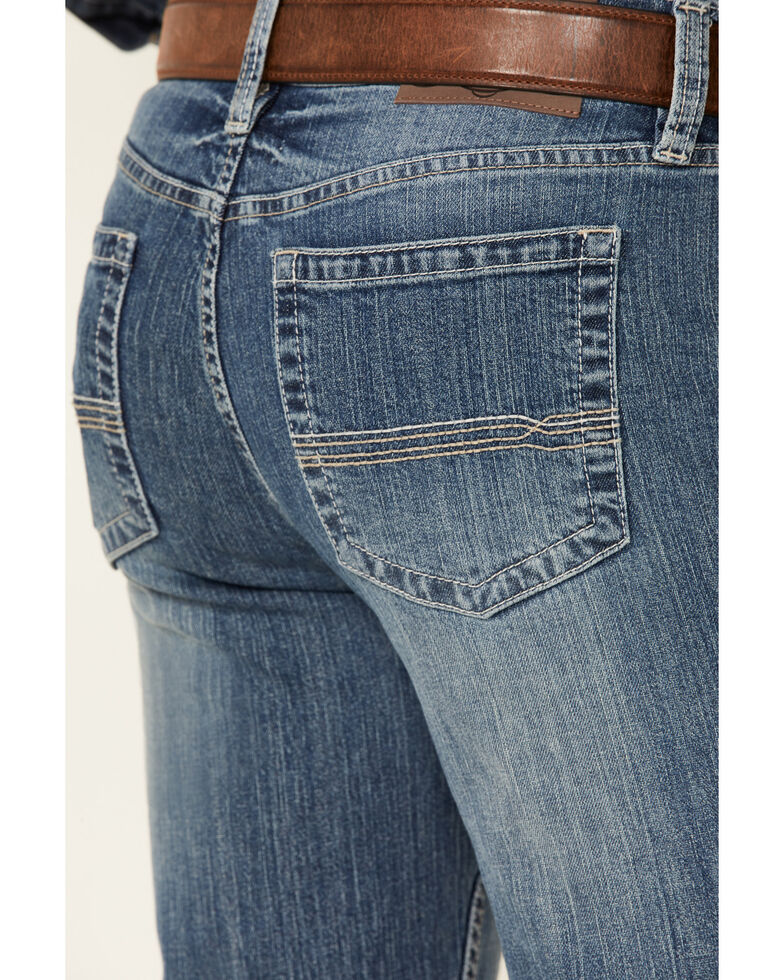 Cody James Men's Casey Light Wash Stretch Stackable Straight Jeans , Blue, hi-res