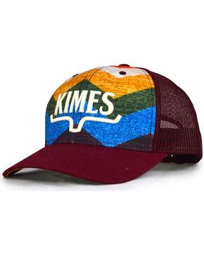Kimes Ranch Men's Hand Woven Trucker Cap , Red, hi-res