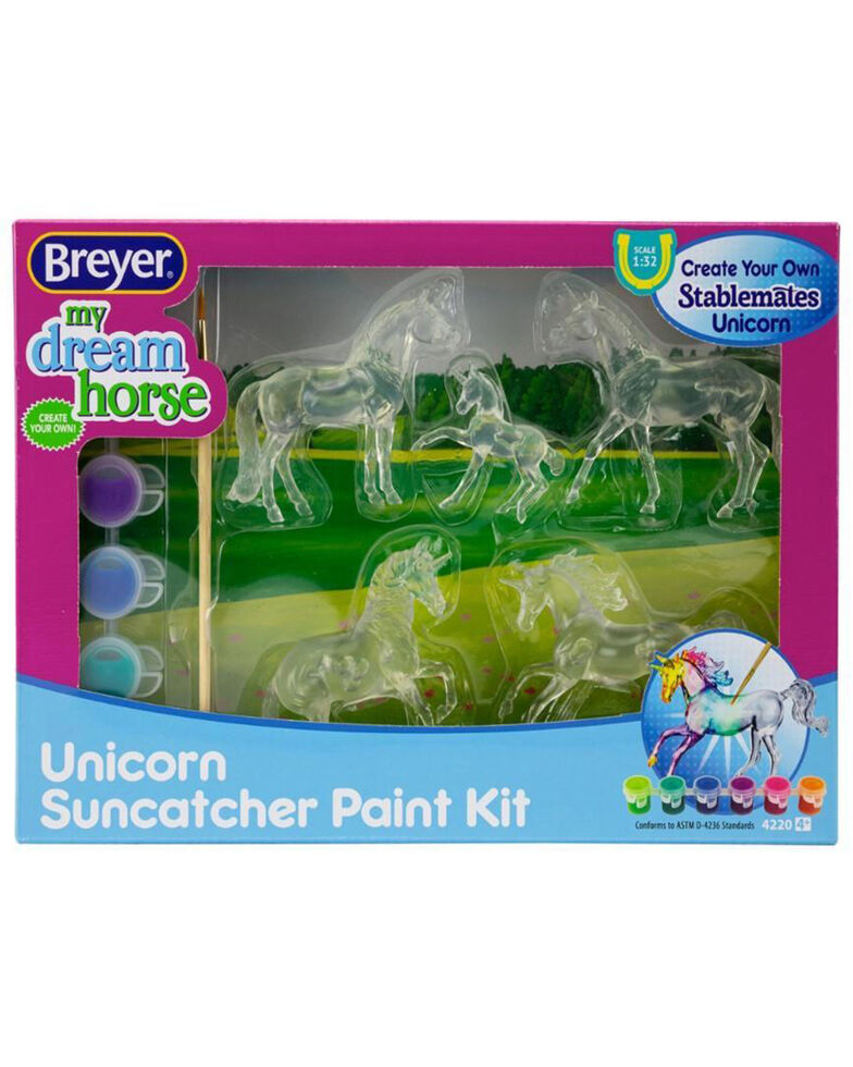 Breyer Suncatcher Unicorn Craft, No Color, hi-res