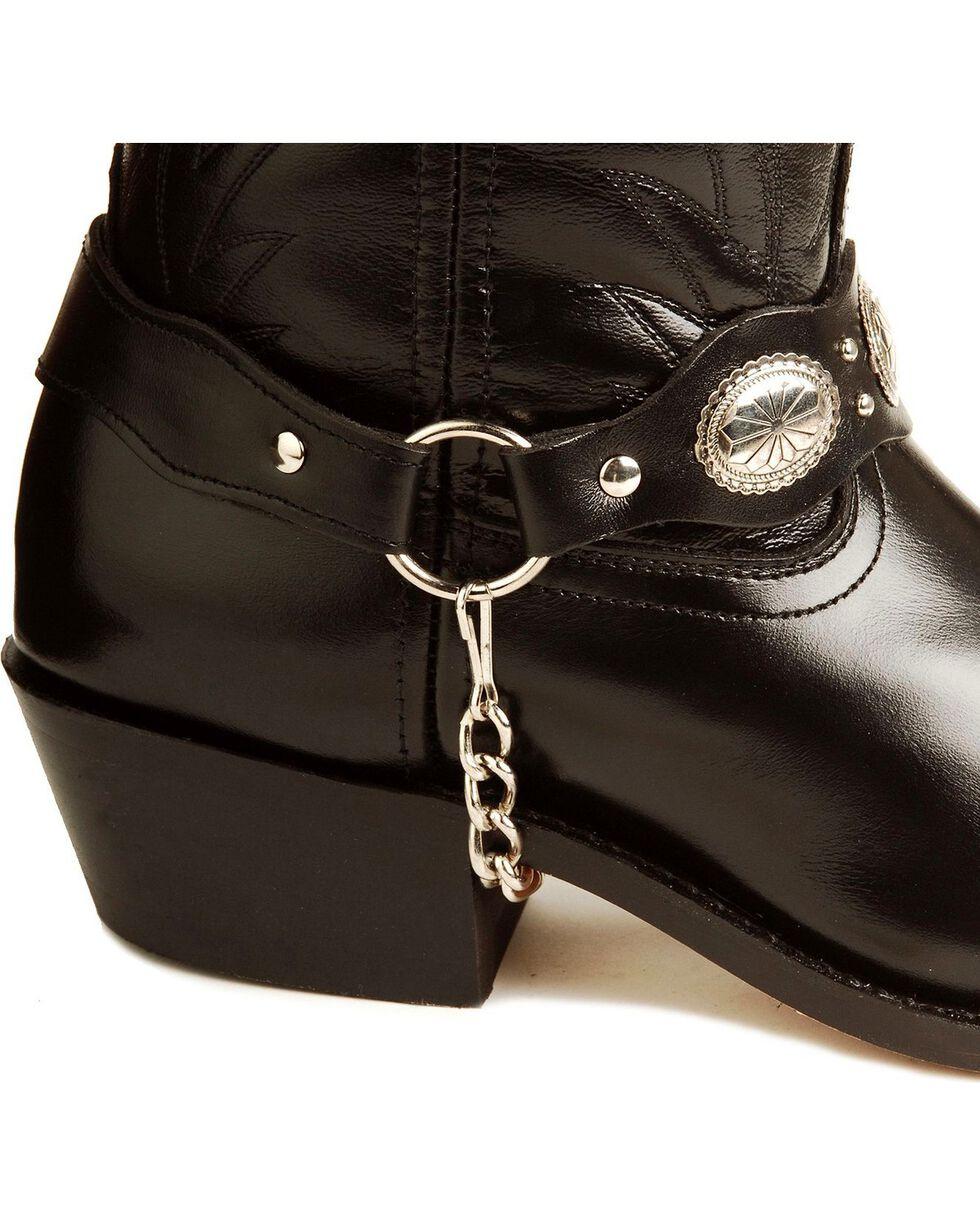 Laredo Men's Tallahassee Western Boots, Black, hi-res