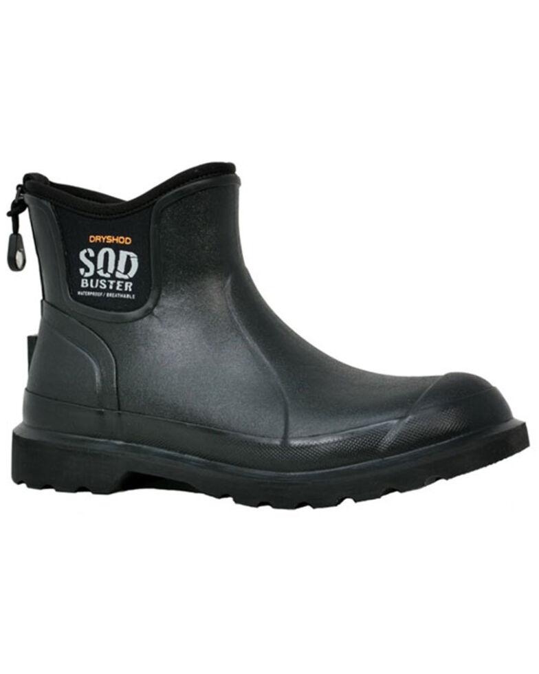 Dryshod Men's Sod Buster Garden Boots - Soft Toe, Black, hi-res
