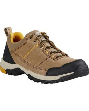 Ariat Men's Skyline Lace-Up Hiking Shoes, Tan, hi-res